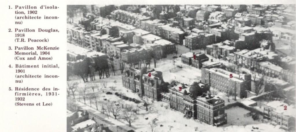 JHale -Douglas Photo aérienne c1950