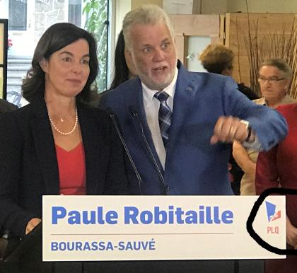 Logo PLQ + Paule Robitaille