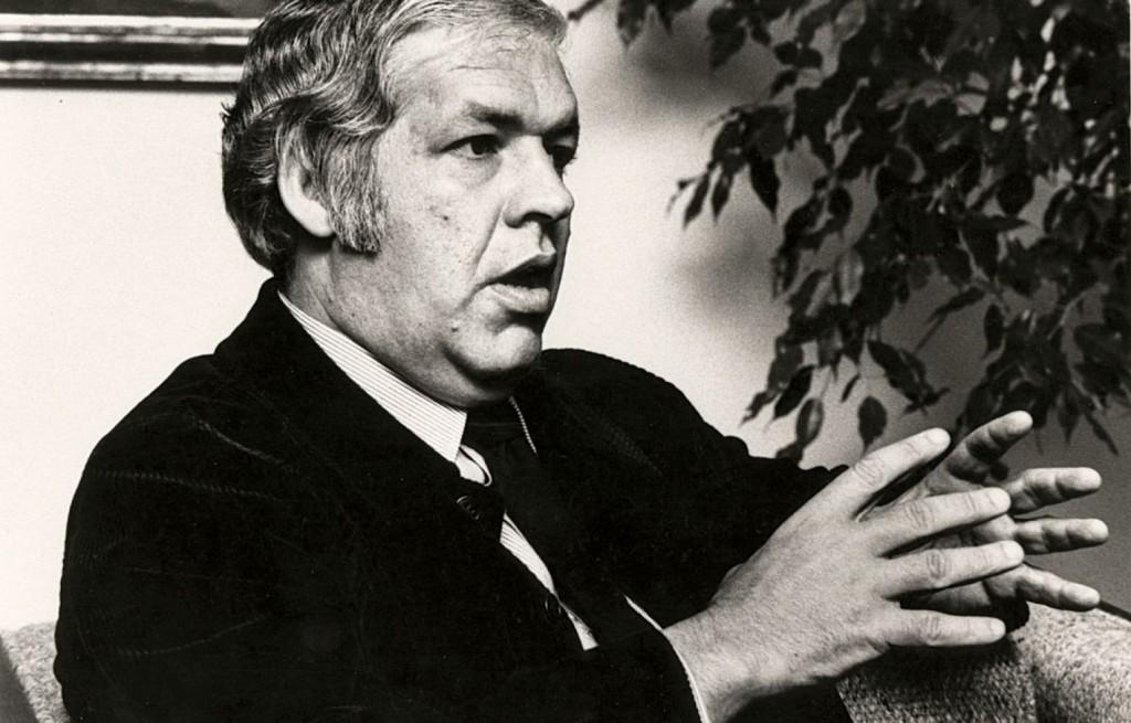 Vaugeois en 1978, photo Le Devoir)