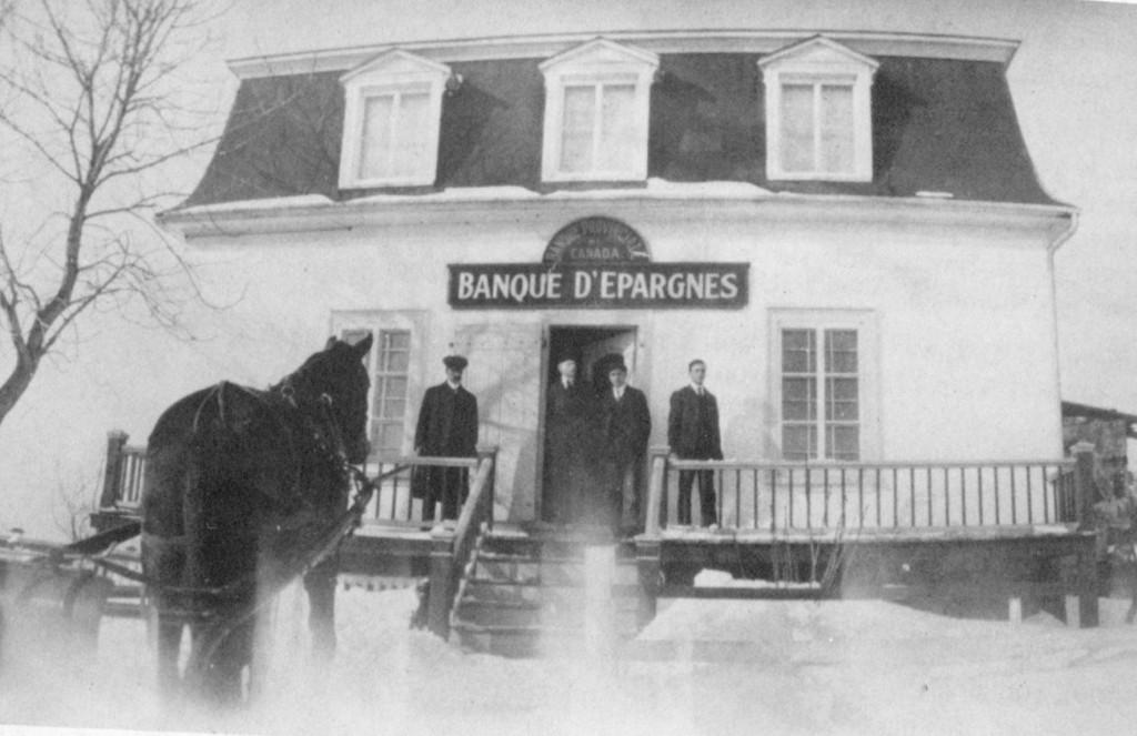 Banque d'épargnes -1909 ( (CH par ASP, coll. JDT)
