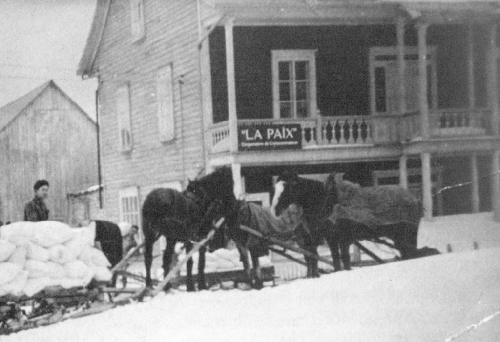 Maison La Paix c. 1940  (CH par ASP, ph. CP)