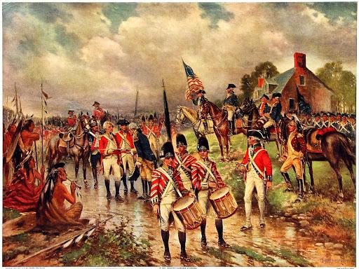 Saratoga-défaite brit. 1777