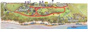 Carte Plaines d'Abraham