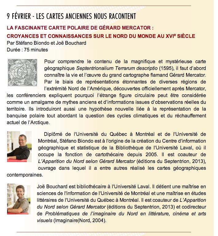 Conférence Mercator